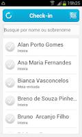 Screenshot of Sympla Check-in