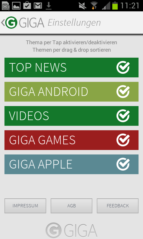 GIGA – Screenshot