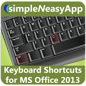 Shortcuts for MS Office 2013