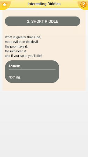 Interesting Riddles