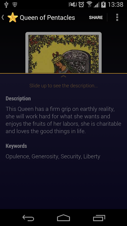 Tarot Reading - Destiny Oracle- screenshot