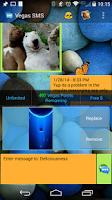 Screenshot of Vegas SMS