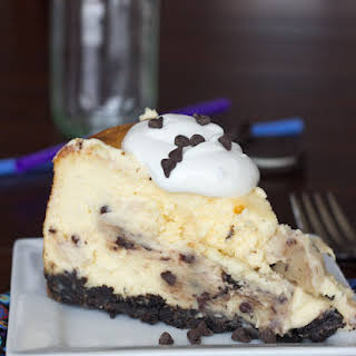 Chocolate Chip Cookie Dough Cheesecake.
