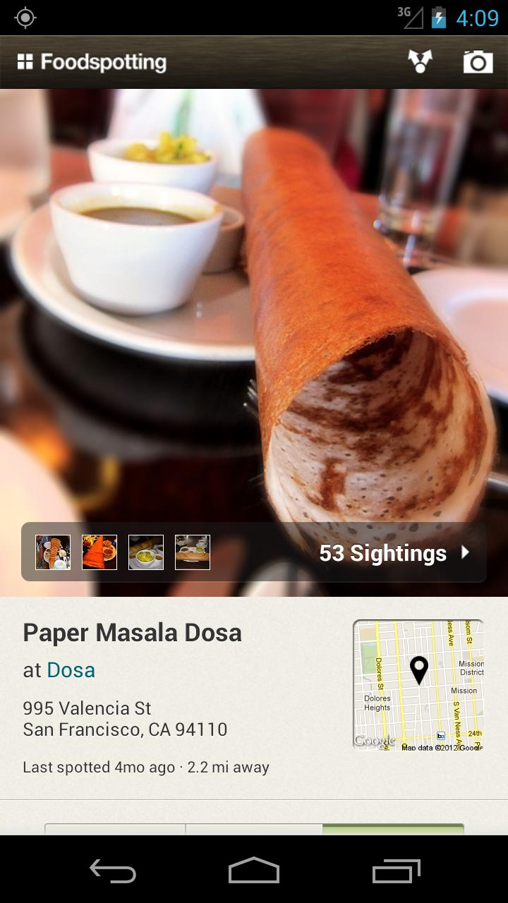 Foodspotting screenshot #4