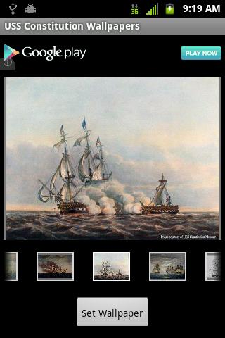 USS Constitution Wallpapers