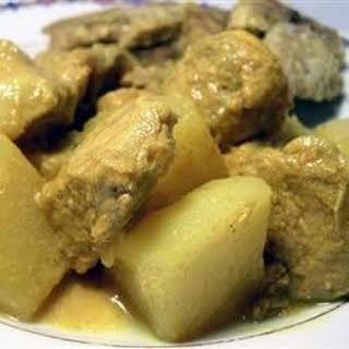Spicy Peruvian Pork.