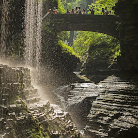 Watkins Glen Gorge, NY by Kimberly Arend Porter - Landscapes Travel ( gorge, gorgeous, waterscape, beautiful, new york )