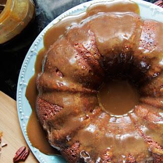 Toffee Pecan Caramel Pound Cake.