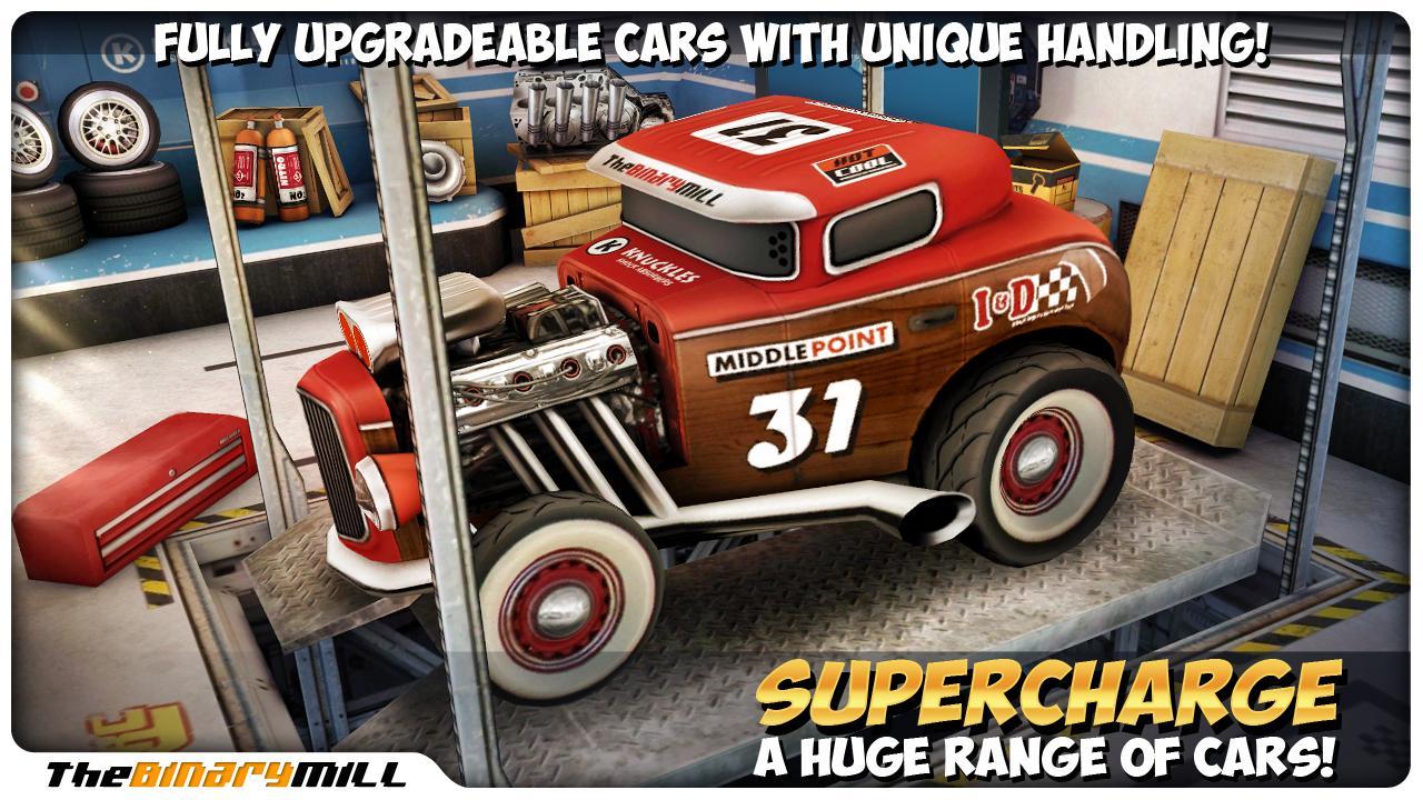 Mini Motor Racing screenshot #2