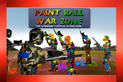 Paintball War Zone commando