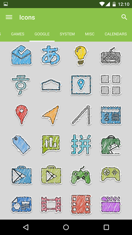 Diddly - Icon Pack - screenshot