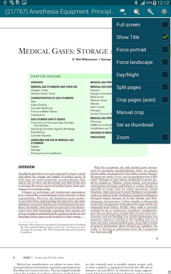 NVA ReaderPro - screenshot