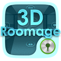 3D ROOMAGE GO LOCKER THEME icon