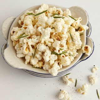 Truffle & Rosemary Popcorn.