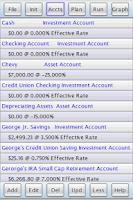 Screenshot of J&L Financial Planner