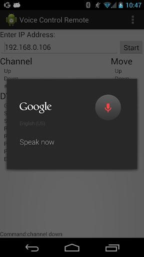 Voice Control Remote