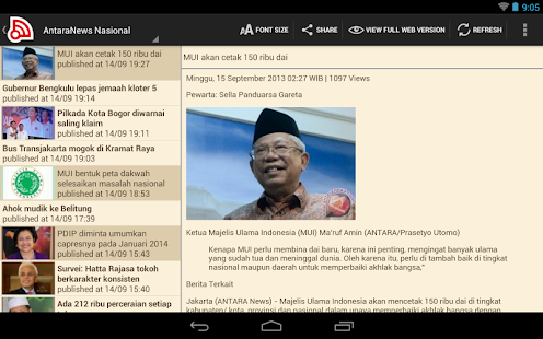 Indonesia Berita- screenshot thumbnail