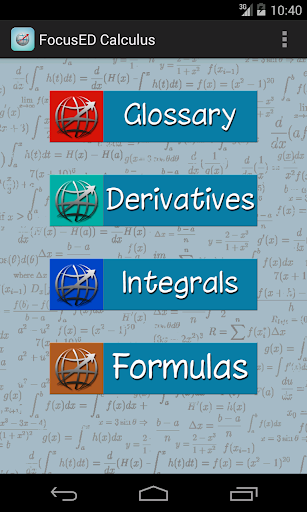 FocusED Calculus