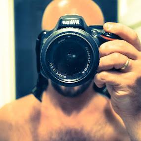 Selfy by Willy Schvarztman - People Portraits of Men ( self portrait camera )