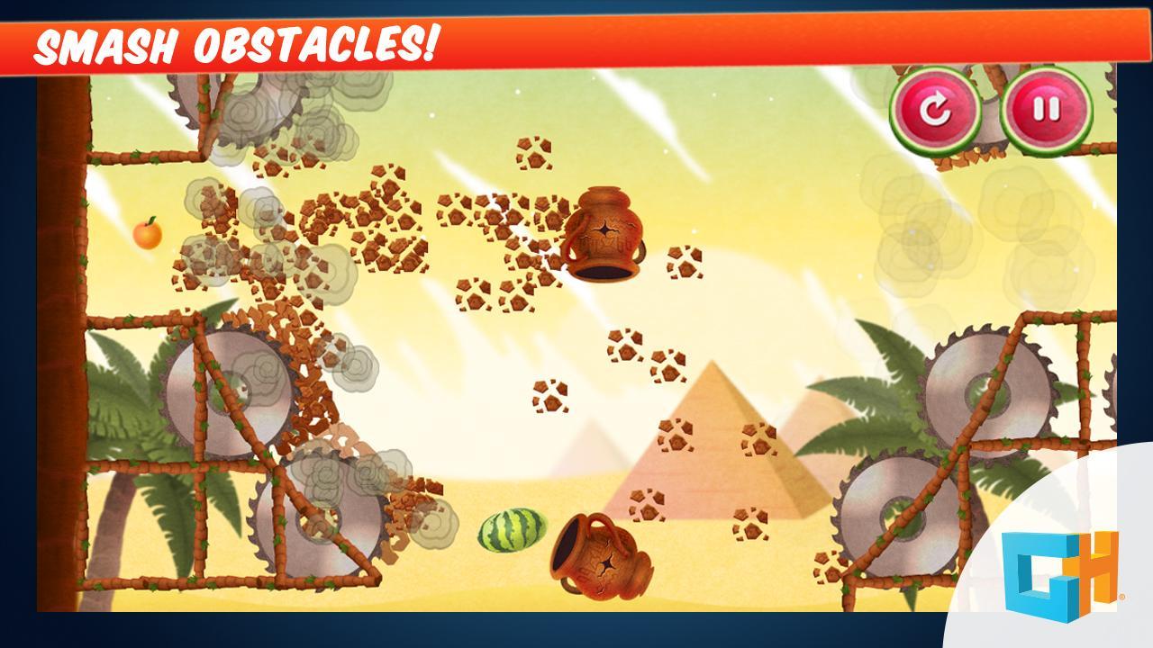 Fruit shooter games - Mortar Melon Fruit Shooter Screenshot