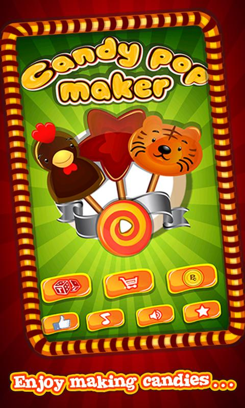 Candy Pop Maker – Cooking Game- screenshot
