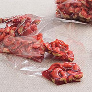 Red-Hot Cashew Brittle