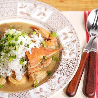 Emeril's Classic Seafood Gumbo.