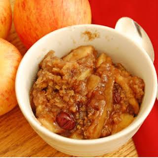 Apple Crisp in the Slow Cooker.