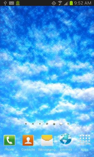 Summer Blue Sky Live Wallpaper