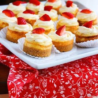 Mini Berry Cheesecakes