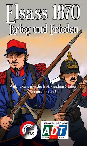 Elsass 1870 Krieg und Frieden