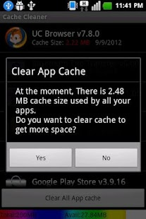 Easy cache cleaner Pro - screenshot thumbnail