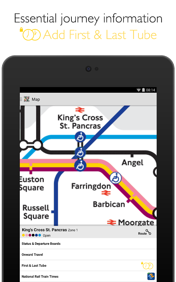 Tube Map London Underground - screenshot