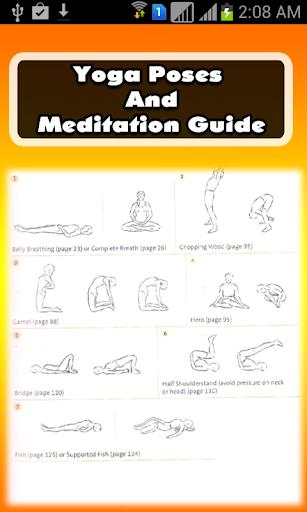 Yoga Poses Meditation Guide