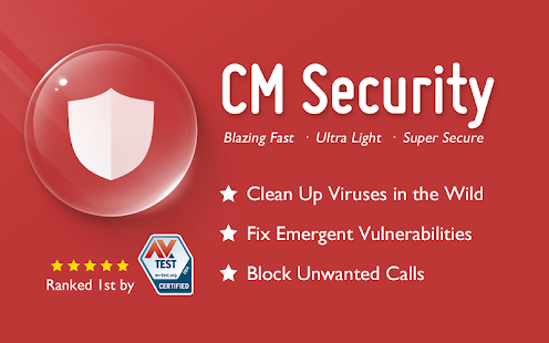 CM Security – Antivirus FREE 1.2.0 APK Android