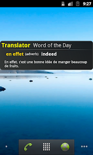French English Translator App- screenshot thumbnail