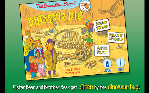 Berenstain Bears Dinosaur Dig