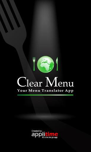 Clear-Menu