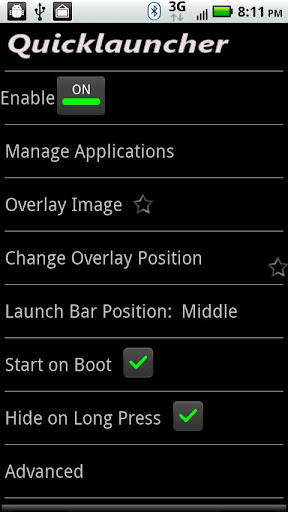 Quick Launcher v1.3.2