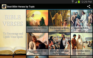 Screenshot of Best Bible Verses By Topic