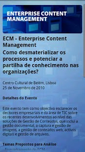 IDC ECM by Javali - screenshot thumbnail