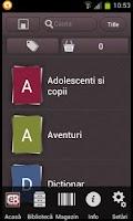 Screenshot of EvoBook - Carti electronice