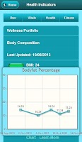 Screenshot of Health Tracker Pro