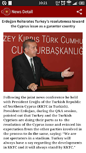 Pres of the Republic of Turkey- screenshot thumbnail