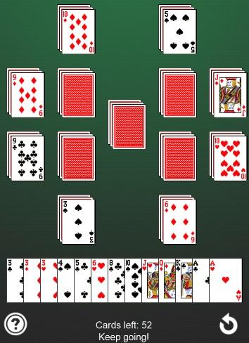 Impossible Solitaire