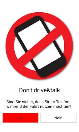 Don't Drive Talk