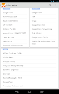 Google Analytics - screenshot thumbnail