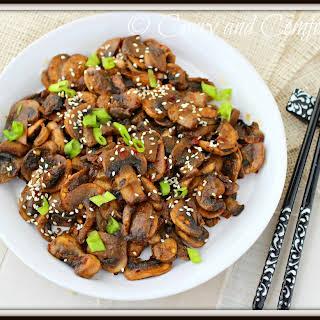 Asian Mushroom Stir Fry.