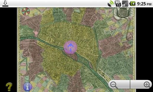 Offline GPS Paris 1760- screenshot thumbnail