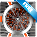 Jet Engine Free live wallpaper icon
